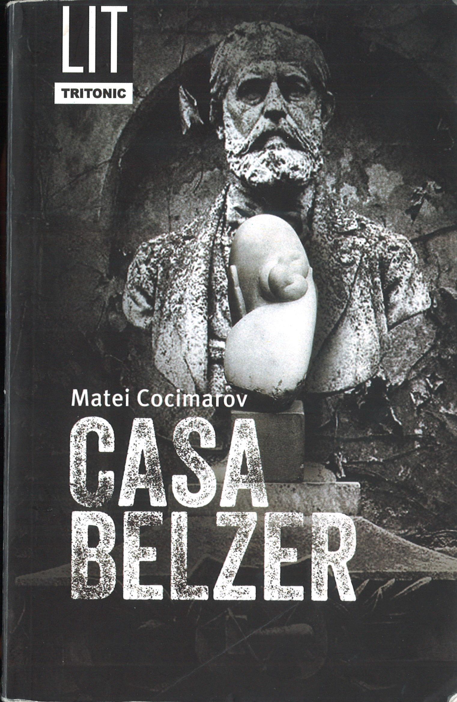 Matei Cocimarov, Casa Belzer - copertina
